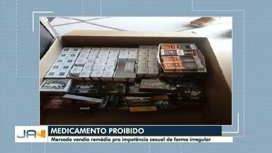 Polícia Civil descobre mercado que vendia medicamento proibido em Itajaí - Polícia Civil descobre mercado que vendia medicamento proibido em Itajaí