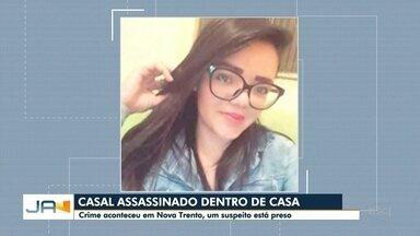 Casal é assassinado dentro da própria casa em Nova Trento - Casal é assassinado dentro da própria casa em Nova Trento