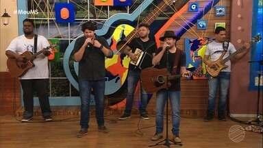 Rapha e Léo, mandando brasa no palco do Meu MS - Rapha e Léo, mandando brasa no palco do Meu MS
