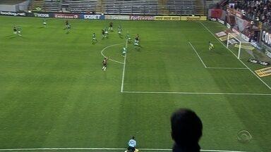 Xavante é prejudicado pela arbitragem e empata em casa - O empate com o Guarani marca uma sequência de 4 jogos sem vitória na série B.
