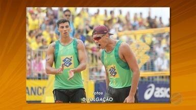 Sul-mato-grossense Saymon conquista bronze no Open de Vôlei de Praia - Sul-mato-grossense Saymon conquista bronze no Open de Vôlei de Praia