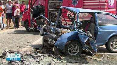 Cinco pessoas morrem em acidente de carro em Taquaritinga do Norte - Outros acidentes foram registrados na região
