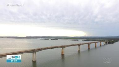 Ponte de Porto Nacional tem interdições parciais para avaliações da estrutura - Ponte de Porto Nacional tem interdições parciais para avaliações da estrutura