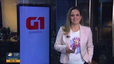 Confira os destaques do G1RS nesta terça-feira (1) - Assista ao vídeo.