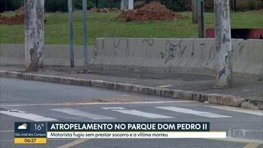Motorista foge após atropelar homem no centro de são Paulo - Caso aconteceu no Parque Dom Pedro II na noite desta segunda-feira (30).