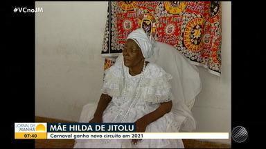 Carnaval de Salvador ganha novo circuito oficial, no bairro da Liberdade - Circuito Mãe Hilda de Jitolu homenageia à Ialorixá e matriarca do bloco afro Ilê Aiyê. Espaço vai ser inaugurado em 2021.