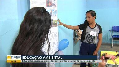 Projetos para ajudar o meio ambiente são desenvolvidos por estudantes em Santarém - Questão ambiental têm sido muito discutida nas salas de aula.