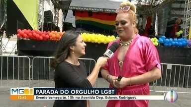 Décima Sexta Parada LGBT é realizada em Montes Claros - Evento começa às 15h, na Avenida Deputado Esteves Rodrigues. Ao vivo, Fanta Fantástica fala sobre a programação da Parada.