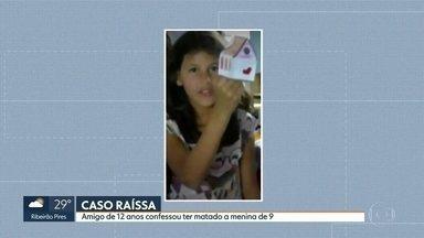 Menino de 12 anos confessa ter matado Raíssa - Um amigo, com apenas 12 anos, da menina Raíssa, confessou o assassinato da menina para polícia.