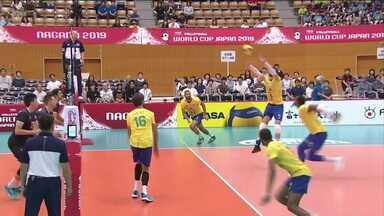 Brasil estreia com vitória na Copa do Mundo de vôlei masculino - Brasil estreia com vitória na Copa do Mundo de vôlei masculino