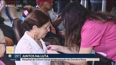 Outubro Rosa: prevenção do câncer de mama é realizada no Triângulo e Alto Paranaíba - Confira as atividades já programadas em Uberlândia e Patos de Minas.