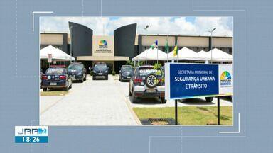Prefeitura inaugura prédio da Secretaria de Segurança Urbana e Trânsito em Boa Vista - Novo prédio estava em construção desde 2016 e custou R$ 9,8 milhões.