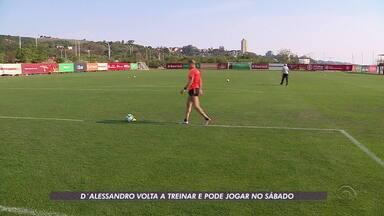 Internacional tem esta a semana somente para treinar - Os jogadores Paolo Guerrero e Emerson Santos se desentenderam durante o treino. Assista ao vídeo.