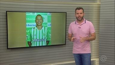 Juventude empresta Caprini para o Bahia - Empréstimo do jogador pode ser estendido até o campeonato baiano.