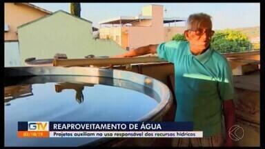 Ideias inovadoras ajudam na economia de água em Divinópolis - Estabelecimentos adotam sistemas de reutilização de água; outros aumentaram a quantidade de caixa d'água. Tudo para evitar o desperdício e valorizar os recursos hídricos.
