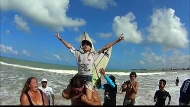 Seleção brasileira de surfe júnior é definida na Paraíba, após competição no fim de semana - Equipe brasileira vai disputar o Mundial no fim deste mês, na Califórnia