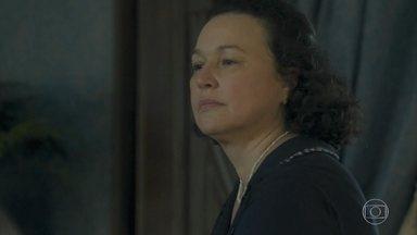 Genu quer saber por onde anda Lúcio - Ela reclama com Virgulino, que não está nem aí para suas queixas