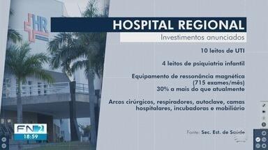Estado divulga investimentos para o Hospital Regional em Presidente Prudente - Serão R$ 8,5 milhões em melhorias na unidade.
