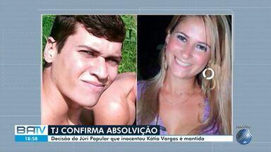 TJ-BA mantém decisão de júri popular que absolveu médica Kátia Vargas - Ela é suspeita de provocar acidente que resultou na morte dos irmãos Emanuel e Emanuelle, em Salvador.