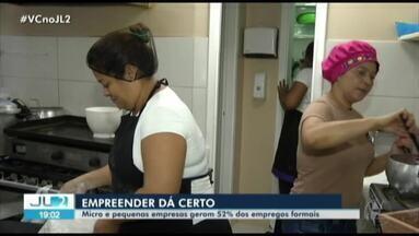 Dados do Caged mostra que empreender dá certo no Pará - No estado, as micro e pequenas empresas já empregam mais que as grandes e representam mais da metade dos empregos formais.