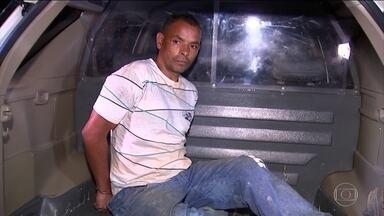 Suspeito de matar jovem de 19 anos é preso em Alumínio, interior de São Paulo - O porteiro Heronildo Martins de Vasconcelos, de 45 anos, foi preso em casa. Ele é suspeito de matar Aline Dantas, desaparecida desde o começo de setembro após sair de casa para comprar fraldas para a filha.