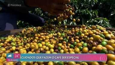 Café de Minas Gerais ganhou o título de melhor do mundo - Conheça a fazenda que produz este café mais do que especial e saiba quais são os cuidados para produção do grão frutado