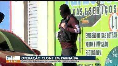 Operação Clone prende 4 pessoas suspeitas de falsificação de documentos de veículos - undefined