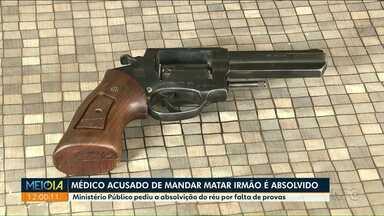 Médico acusado de mandar matar irmão é absolvido - O crime foi em Maringá em 2016.