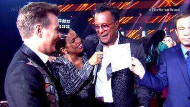 Michel Teló e Tony Gordon falam da vitória no The Voice Brasil - undefined