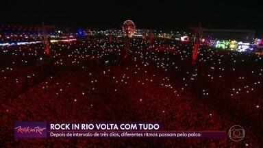 Quarta noite do Rock in Rio tem atrações para todos os gostos - Red Hot Chili Peppers e Capital Inicial levantaram o público