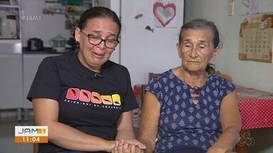 Mãe e irmã lamentam morte do engenheiro Flávio Rodrigues - Vítima estava desaparecida desde madrugada de segunda-feira (30). Corpo foi encontrado durante a tarde em bairro próximo a casa em que festa aconteceu.