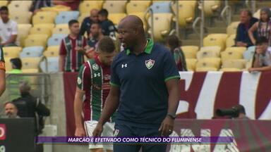 Fluminense anuncia efetivação de Marcão como técnico do clube - Fluminense anuncia efetivação de Marcão como técnico do clube