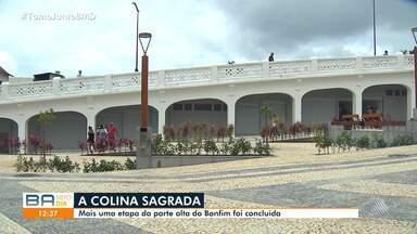 Região da Colina Sagrada é entregue para a população após reforma - Mais uma etapa da parte alta do Bonfim está pronta.
