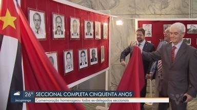 Delegacia Seccional de Santos completa 50 anos - Data foi comemorada com festa e homenagem aos 25 delegados que já chefiaram a Delegacia Seccional.