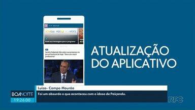 Atualize o aplicativo Você na RPC - O app está com visual novo, mais leve e mais rápido