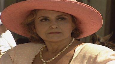 Capítulo de 26/02/1997 - Zenilda se recusa a dar passagem para Altiva e as duas ficam paradas em cima da ponte. Teobaldo expulsa Artêmio da usina.