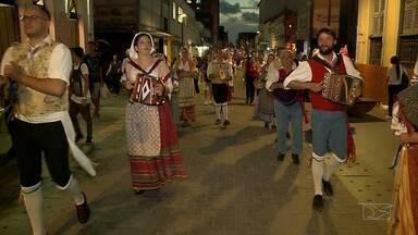 Repórter Mirante destaca 6ª edição do Festival Internacional do Folclore - As culturas da Itália, México, Estados Unidos, Pará e Maranhão fizeram um arrastão em vários bairros da capital maranhense.