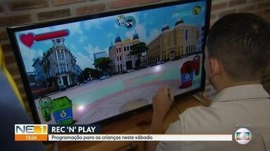 REC'n'Play chega ao último dia de festival com programação para as crianças - Evento é realizado no Bairro do Recife.