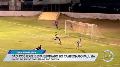 Quarta divisão do Campeonato Paulista terminou para o São José - Time perdeu para o Marília e foi eliminado.