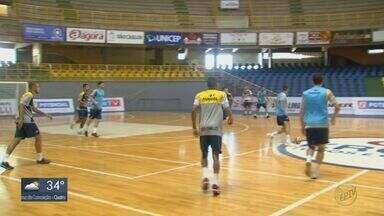 Liga Nacional de Futsal: São Carlos joga fora de casa, e busca um empate com o Corinthians - Veja como foi o último treino da equipe.