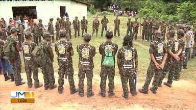 Ibama realiza balanço durante operação em áreas de reservas indígenas no Maranhão - O Ibama faz um balanço da operação realizada durante toda esta semana em áreas de reservas indígenas.