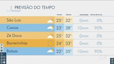 Confira as variações do tempo neste sábado (5) no Maranhão - Veja como deve ficar o tempo e a temperatura em São Luís e no Maranhão.