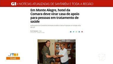 Confira os destaques do G1 Santarém e Região - Fique bem informado acessando o maior portal de notícias da região.