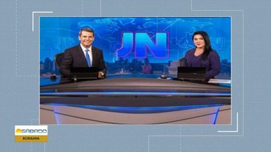 Ellen Ferreira apresenta o Jornal Nacional deste sábado (5) - Apresentadora representa o estado de Roraima.