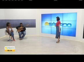 Cantora Erica Timóteo participa do Bom Dia Sábado - Ela falou sobre a trajetória no mundo musical.