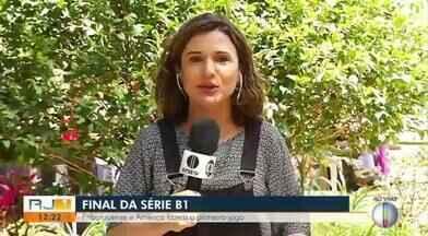 Friburguense e América fazem o primeiro jogo da final da Série B1 do Carioca - Jogo será neste sábado (5), às 15h, no estádio Eduardo Guinle.