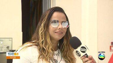 Viviane Araujo e Eri Johnson apresentam 'Quem é Quem' no Atheneu - Viviane Araujo e Eri Johnson apresentam 'Quem é Quem' no Atheneu.