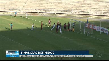Sport Lagoa Seca e São Paulo Crystal estão na 1ª divisão do Paraibano - Veja os gols.