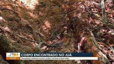 Pescadores encontram corpo enterrado próximo ao lago do Juá em Santarém - Polícia foi acionada, após pescadores observarem a presença de urubus em uma cova rasa.