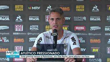 Confira os destaques do esporte neste sábado (05) - Cruzeiro enfrenta o Internacional em casa, neste sábado, às 21h. Atlético duela com o Palmeiras neste próximo domingo (06), em São Paulo.